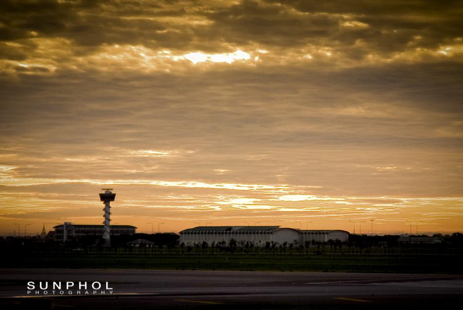 Dawn t Suvarnabhumi Airport