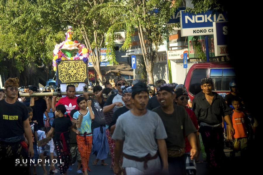 Hindu Funeral in Bali
